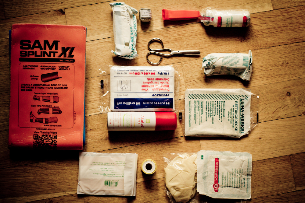 mtb first aid kit content