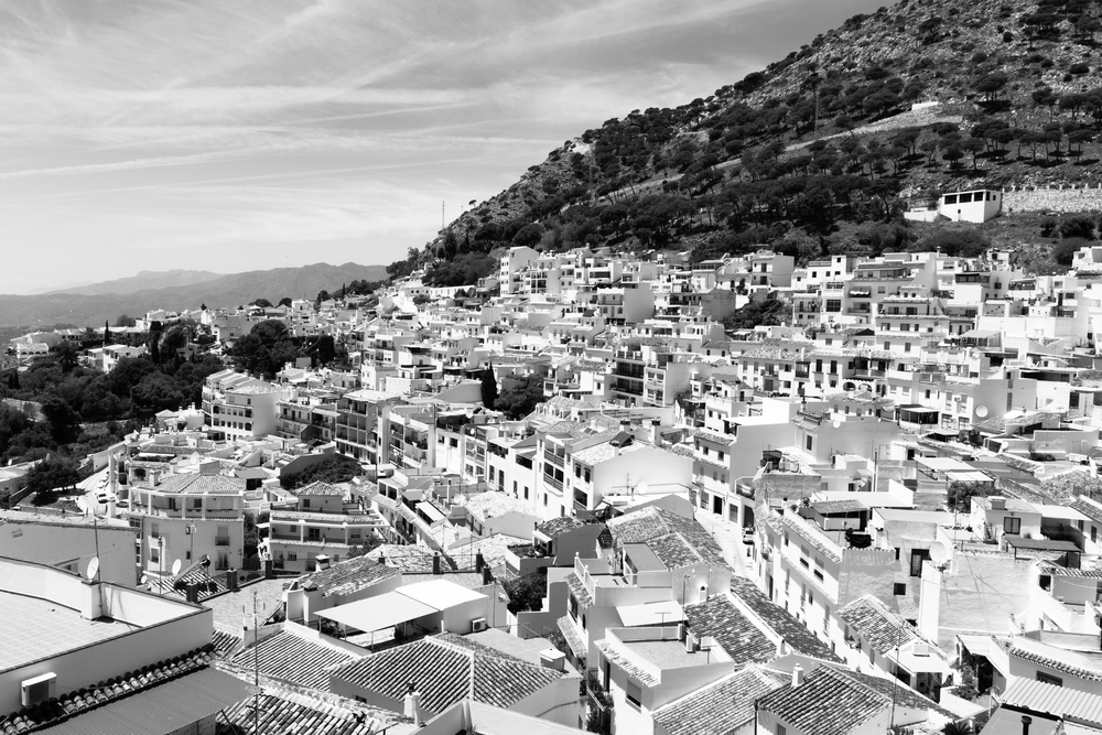 So stunning!!! The city of Mijas, one of the most beautiful old cities in Southern Spain surrounded by many DH tracks