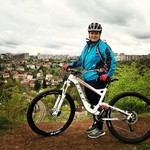Easy mtb tours in Prague