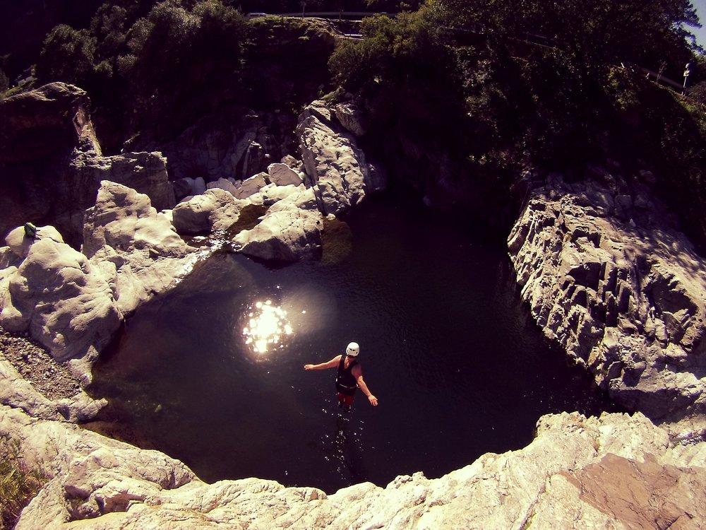 canyoning in Malaga