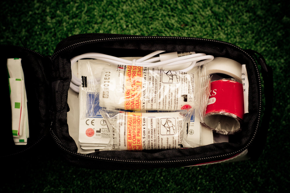 sj works first aid kit