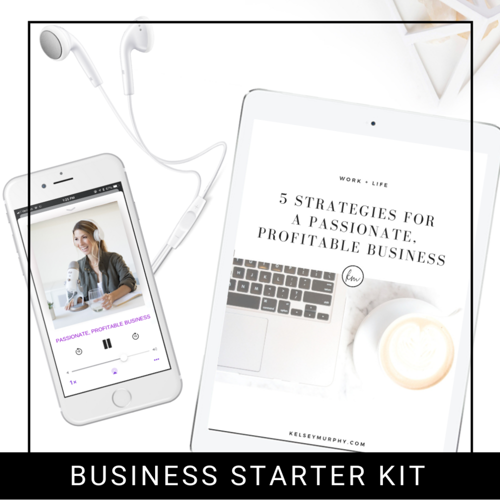 FREE BUSINESS STARTER KIT  - Take your business to the next level with this power-packed strategy guide in an audio & planner.