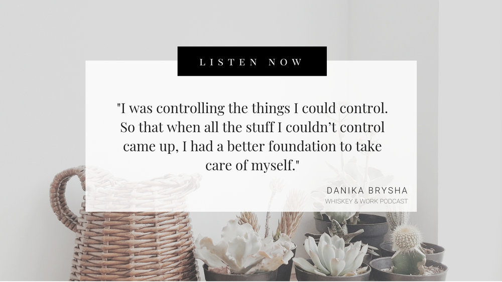 Danika Brysha Whiskey and Work Podcast with Kelsey Murphy