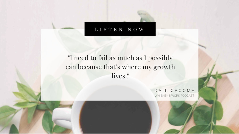 Dail Croome Whiskey and Work Podcast with Kelsey Murphy