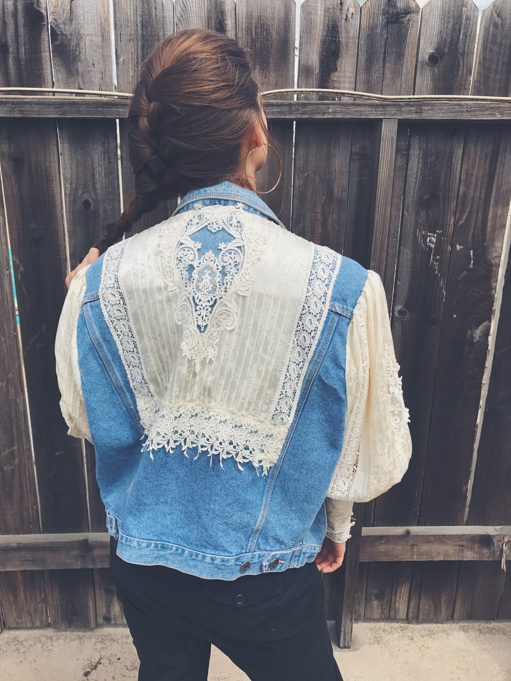 Corrin Evans Vintage Denim Jacket