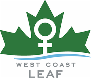 "West Coast LEAF is the first and only organization in BC dedicated to promoting women's equality through the law. West Coast LEAF and our sister organization LEAF have helped bring about some of the most important victories for women in Canada: safe access to reproductive rights; fair workplace standards; fair separation agreements; ""no means no"" in sexual assault; the right to be free of sexual harassment from landlords, and more."