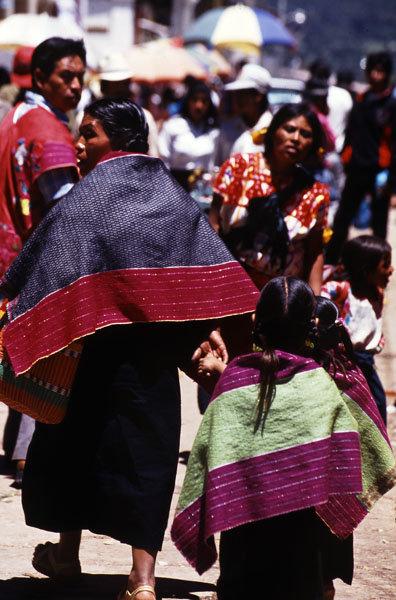 Locals wearing textiles, photo by Ignacio Urquiza