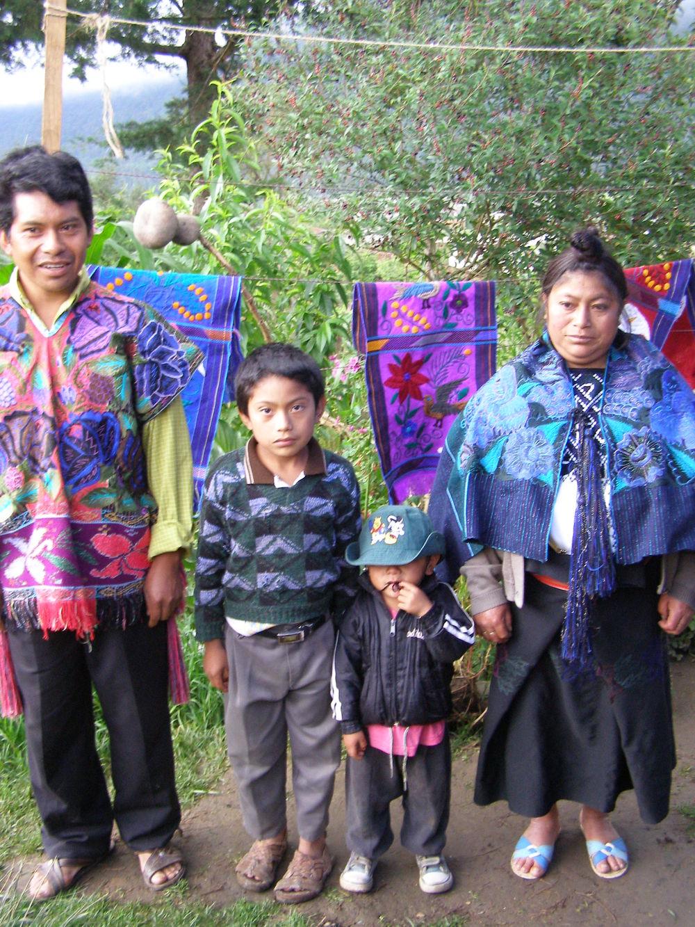 Zicantan Family, Chiapas