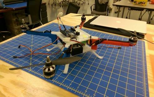 Quadcopter version 1.0.