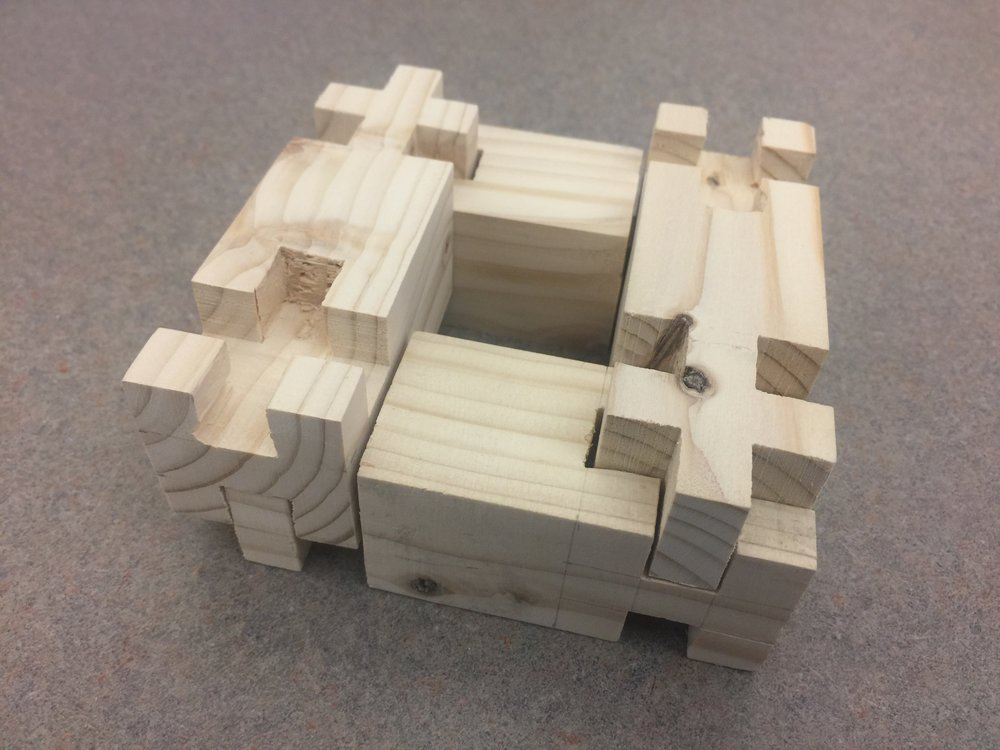Connections and Joinery - Modular Wood Assembly