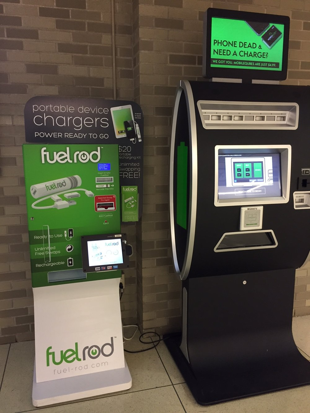 Some examples of existing charging stations.