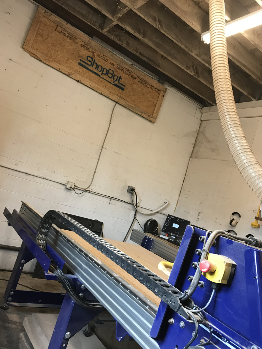 Better Block's very own CNC router in their shop.