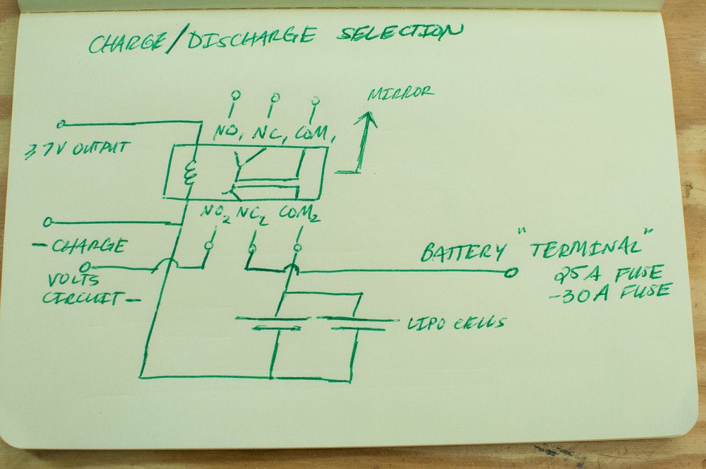 Charge circuit diagram 3.