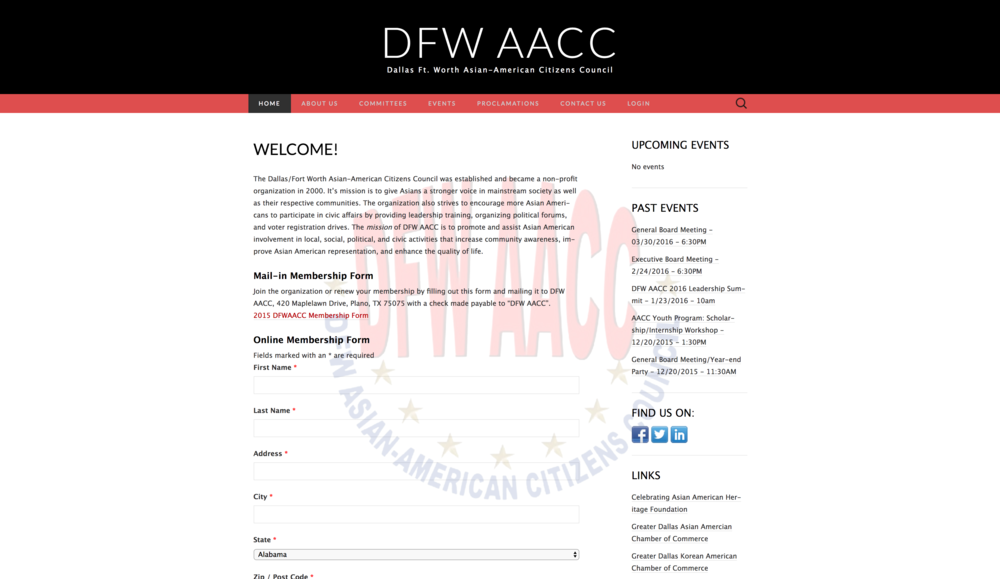 DFW Asian-American Citizens Council