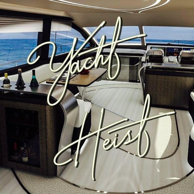 And our next room theme is.....Yacht Heist!! You'll play the bad guy and get to break into a yacht to steal the valuables on board. Coming early summer 2019!! #escaperoom #escapegame #wsnc