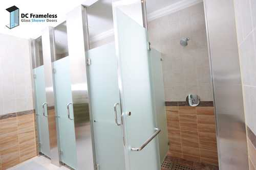 frosted-glass-shower-door