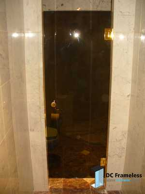 bronze-shower-door-dc