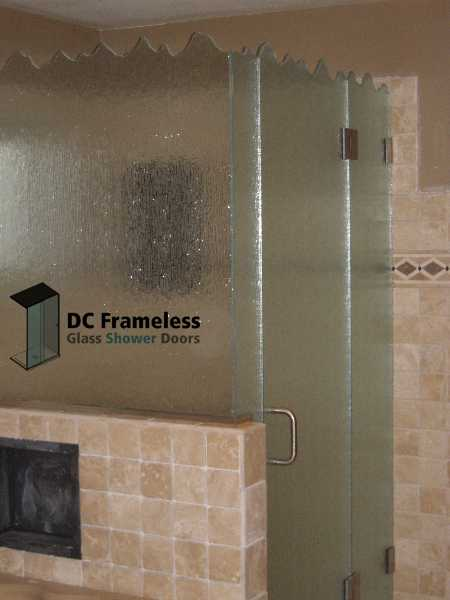 rain-glass-shower-door