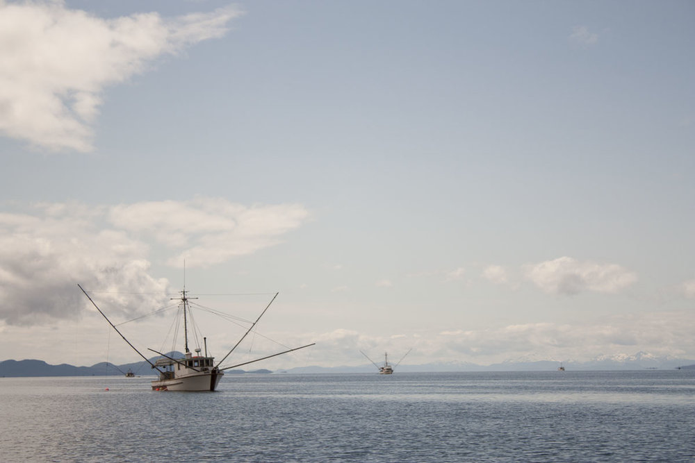 A Southeast Alaskan commercial fishing ground. Photo by Barak Wright.