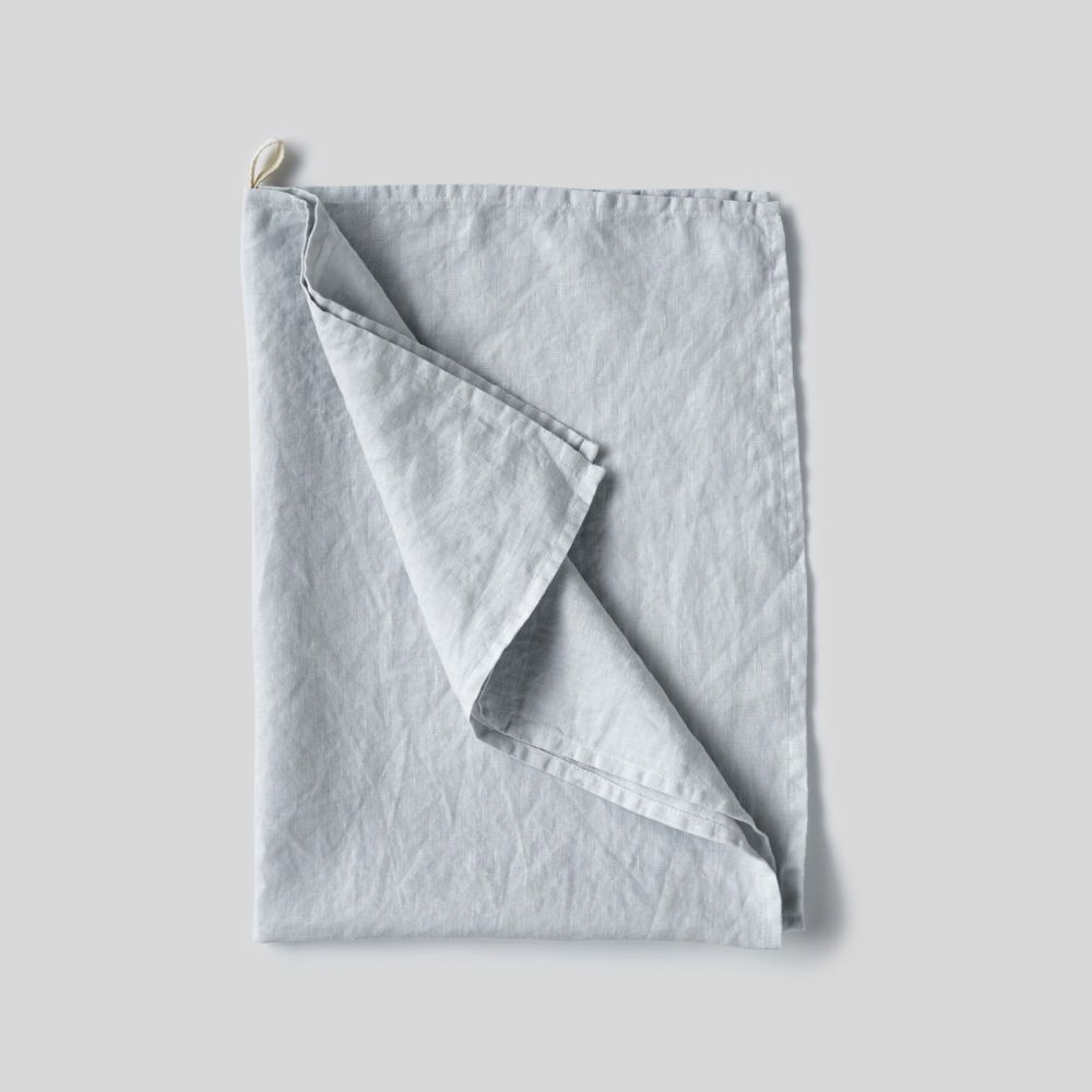 pale blue Linen Tea Towels -
