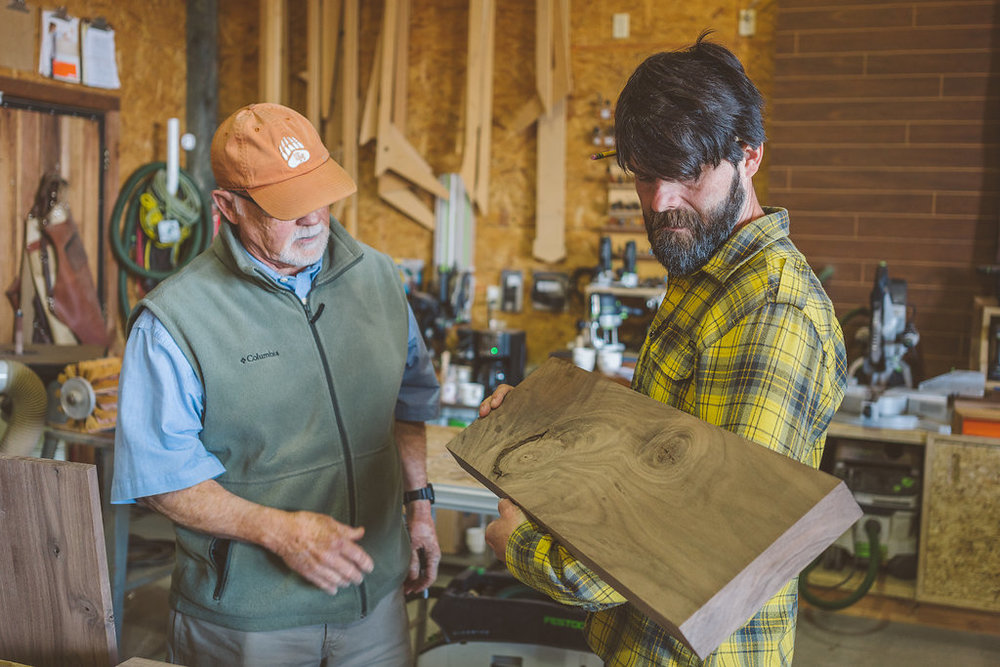 """Taking Jory's workshop is one of the best decisions I've ever made in my woodworking career.""  — Tarjei Vassbotn, Palo Alto, Ca"