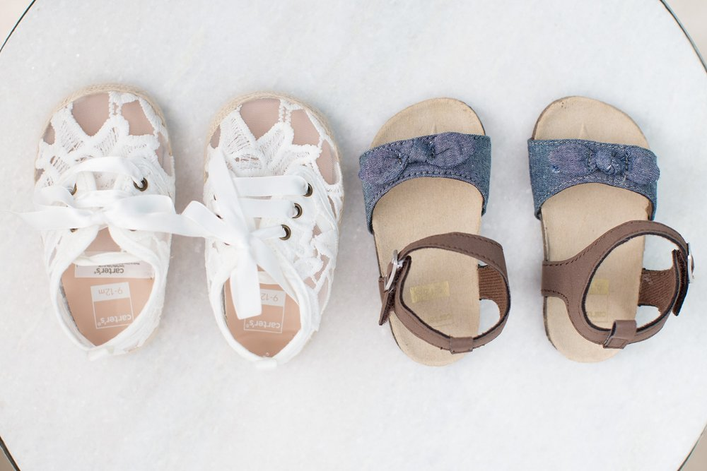 Carter's baby shoes and sandals