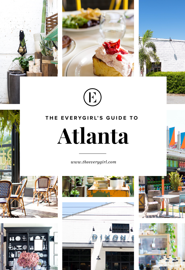 Picture of the best restaurants and shops in Atlanta.