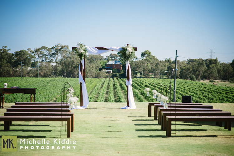Riverbank Estate - The spacious lawn overlooking the vineyards makes this the Riverbank Estate an idyllic, child friendly location. The ceremonies are usually held on the lawn while the reception can be held as either cocktail style or sit down with tables on the verandah. Check out a wedding at Riverbank Estate here: Bronte and Robin