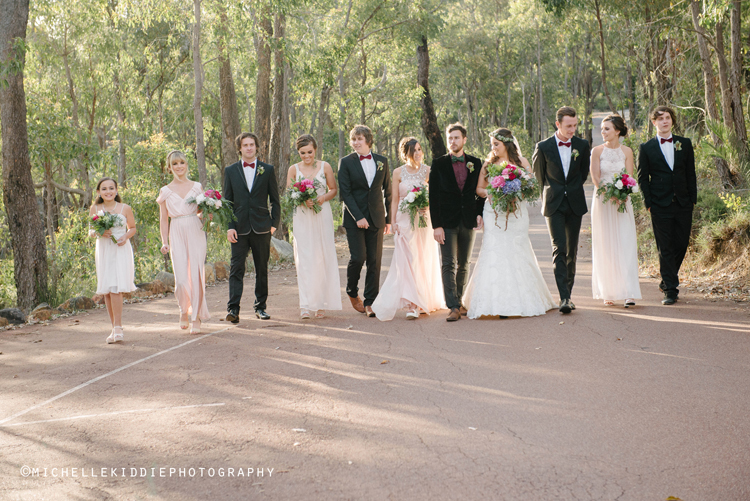 - Hidden away amongst the winding lush green hills, you don't need transport to take you for photos as the scenery and soft diffused end of day light amongst the forest and bushland is beyond perfection. Darlington Estate Winery provides a setting that is charming, intimate and beautiful.Links to weddings at Darlington Estate Winery: Veronique and Tom
