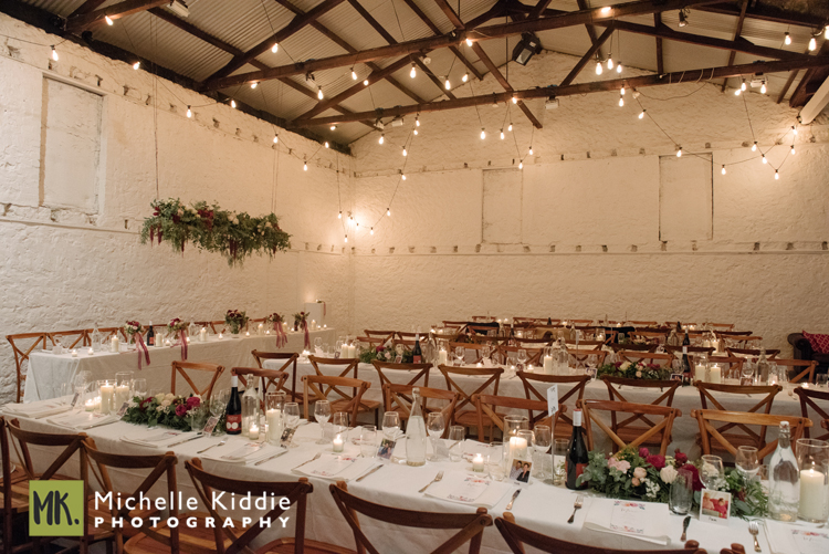 - Moore and Moore's delightful courtyard looks beautiful under the strings of fairy lights surrounded by the old limestone Fremantle walls.The front two rooms and the corridor of the Moores Building, which is filled with funky artefacts are used after 9pm and comfortably caters for guests to mingle and dance in.To see weddings photographed by Michelle Kiddie Photography at Moore and Moore click on the couples names: Erin and Sam;  Vicky and Dwain;  Charlotte and Jim;  Vicky and Matt ;  Rachel and Phil