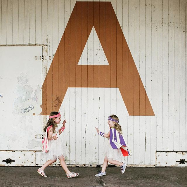 A is for Amelie who loves playing dress ups with her little sister Elsie. When they've finished being fairies, they transform into the most formidable Wonder Women. We're safe with Amelie and Elsie in the world. #familyphotography #familyphotos #perthfamilyphotographer #familylove #wonderwoman