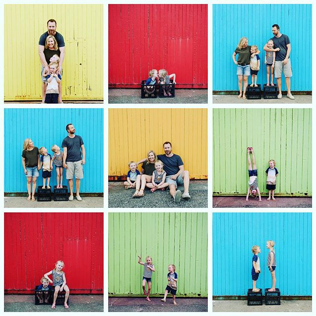 Every family has a story that is their own. I loved photographing the fun and frivolous energy of the Tait family, hand stands and all.  #perthfamilyphotographer #familyphotos #perthportraitphotographer  #familylove
