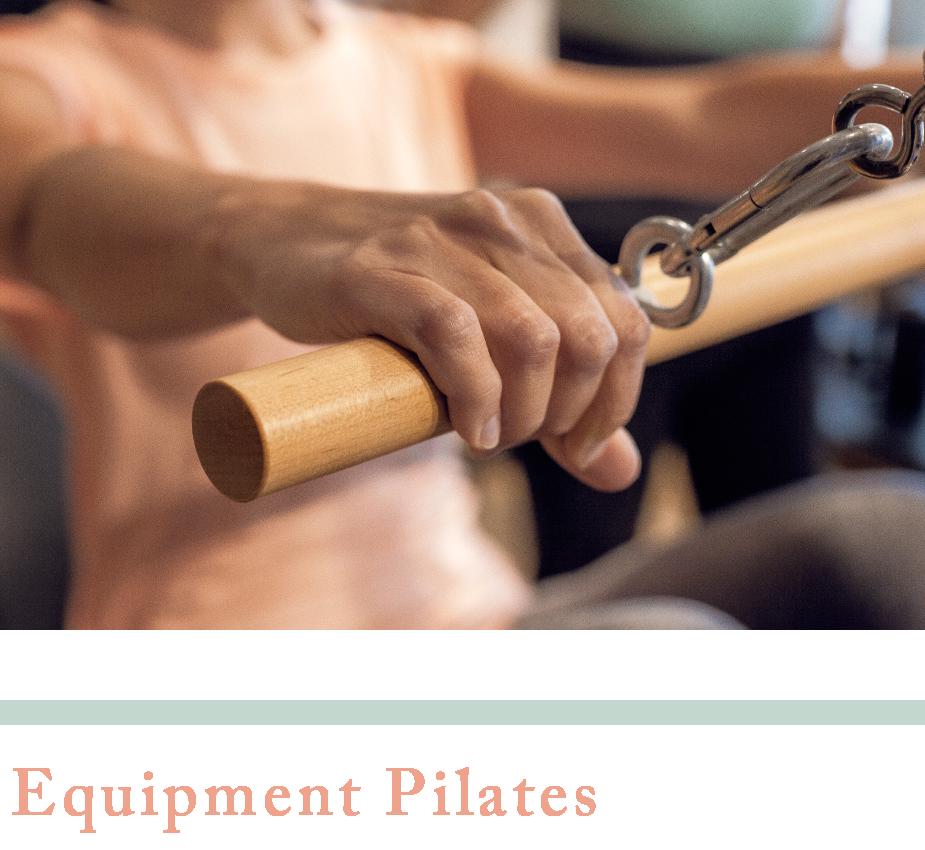 equipment pilates studio one