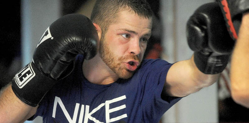 Brandon Berry, a young boxer whose cash-strapped town desperately needs him to win.