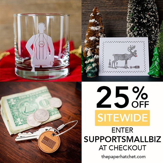 Need a great gift idea for Christmas? We've got you covered and save you 💰. Use supportsmallbiz for 25% off.