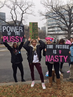 From the March in Washington D.C. Image courtesy of Jillian Sobek