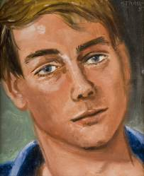 Self-portrait, 1984