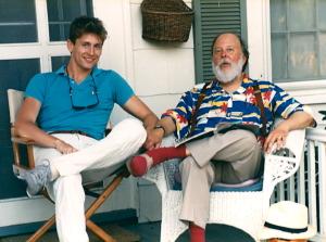 Philippe Tressera and Henry, Southampton, circa 1985