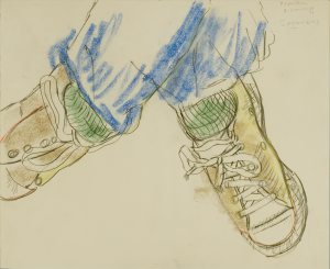 Larry's sneakers, 1978