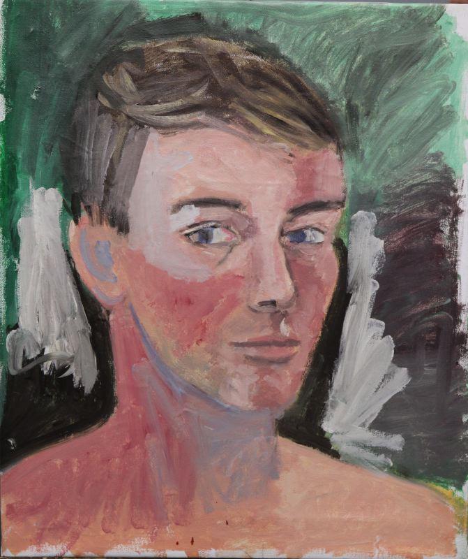 Copy of Larry S Self Portrait