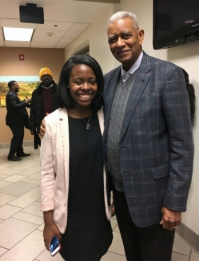 Tiara Sargeant and Reverend Dr. Otis Moss