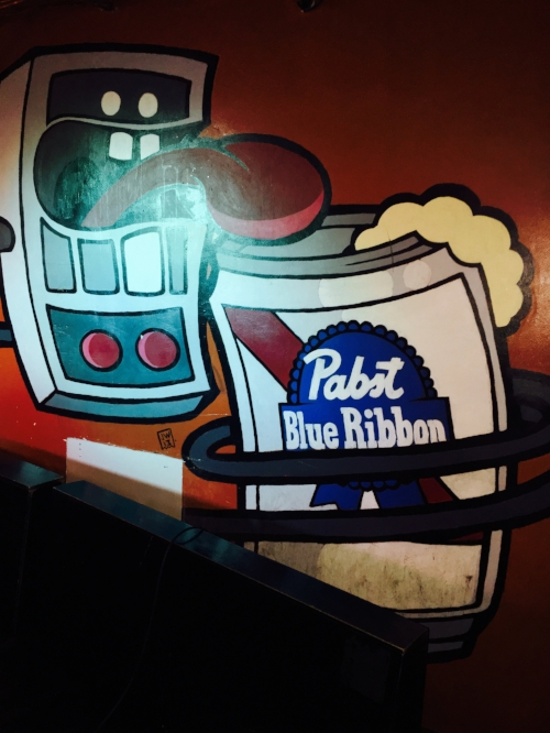 Mural at B-Side