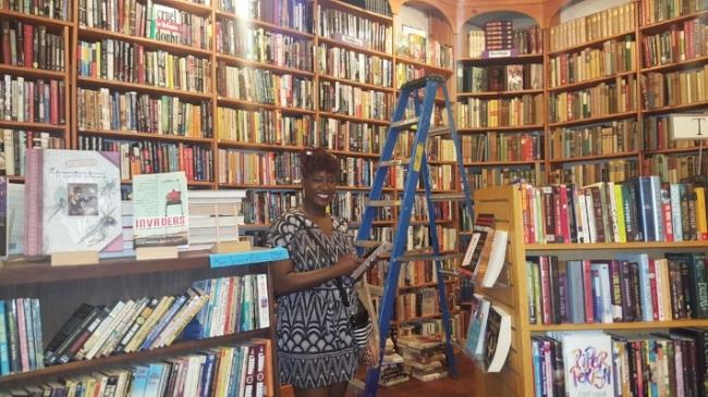Chauna at Loganberry Books