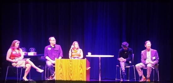 Panelist included; (l-r) Megan Van Voorhis, Sean Watterson, Andria Hickey, Daniel Gray-Kontar and Fred Bidwell