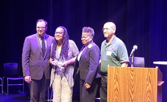 Best Nonprofit/Local Business Relationship winners Black Butterflies LLC & Cleveland UMADAOP