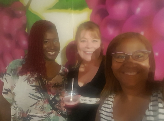 Shana Chauna and Destiny CLEUrbanWinery BlackgirlinCLE