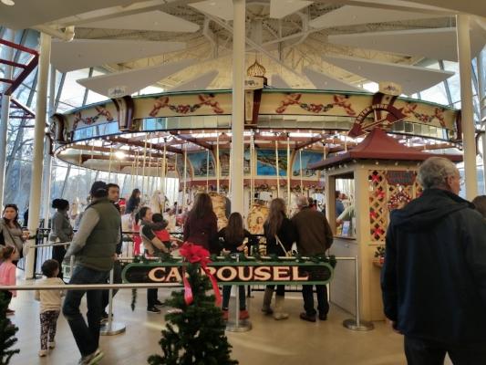 Euclid Beach Park Carousel at the Cleveland History Center