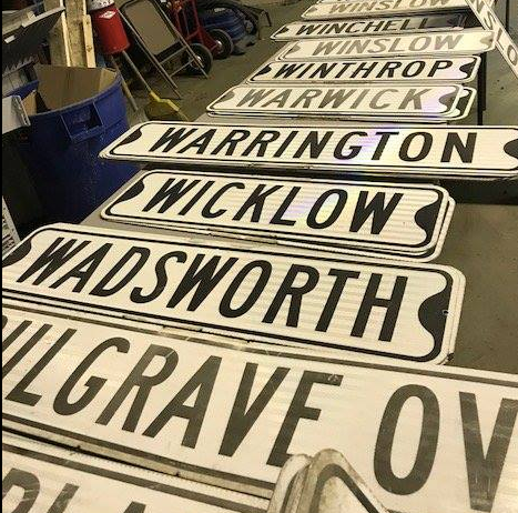 Shaker Heights street signs- Photo courtesy of  Facebook