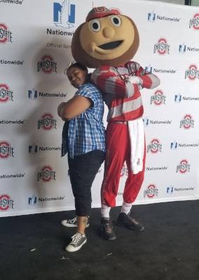 Me and Brutus O-H...!