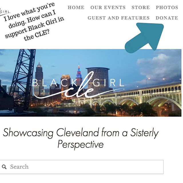 "We often get told, ""I love what you're doing how can I support?"" Simple, share and comment on our post, buy tickets for an event or simply click donate.  www.blackgirlincle.com ................................................................................................................................................#blackgirlincle #cle #Cleveland #clevelandadventures #blackswhoblog #writersofinstagram #blogstyle #clevelandbloggers #ohio #blogger #blog #supportblackbusinesses #buyblack #communityovercompetition #CLEblackgirl"